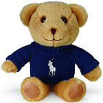 Ralph Lauren Online Only FREE Mini Bear with any large spray purchase from the Ralph Lauren Men's fragrance collection