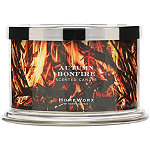 HomeWorx Online Only Autumn Bonfire 4 Wick Candle
