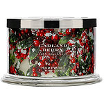 HomeWorx Garland Berry 4 Wick Candle