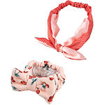 The Vintage Cosmetic Company Cherry Print Headband Duo
