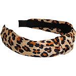 Jessica Simpson Leopard Topknot Headband