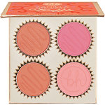 BH Cosmetics Vanilla Peach Truffle - 4 Color Blush Palette