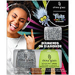 China Glaze Trolls World Tour Collection Diamonds on Diamond Nail Art Kit