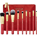 ZOEVA Lucky Luxe 9pc Vegan Brush Set