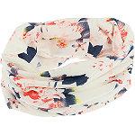 Capelli New York Flower Print Multiwear Headwrap