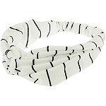 Capelli New York Striped Twist Front Headwrap