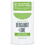 Schmidts Bergamot + Lime Natural Deodorant