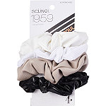 Scünci Black and White Scrunchie Set