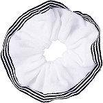 Scünci White Terrycloth Scrunchie