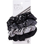 Scünci Basic Black Scrunchie Set