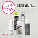 ULTA Vacation, Check. Dry Shampoo, Check. Kit