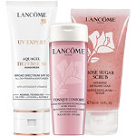 Lancôme Exfoliate, Tone, Moisturize UV Expert Set
