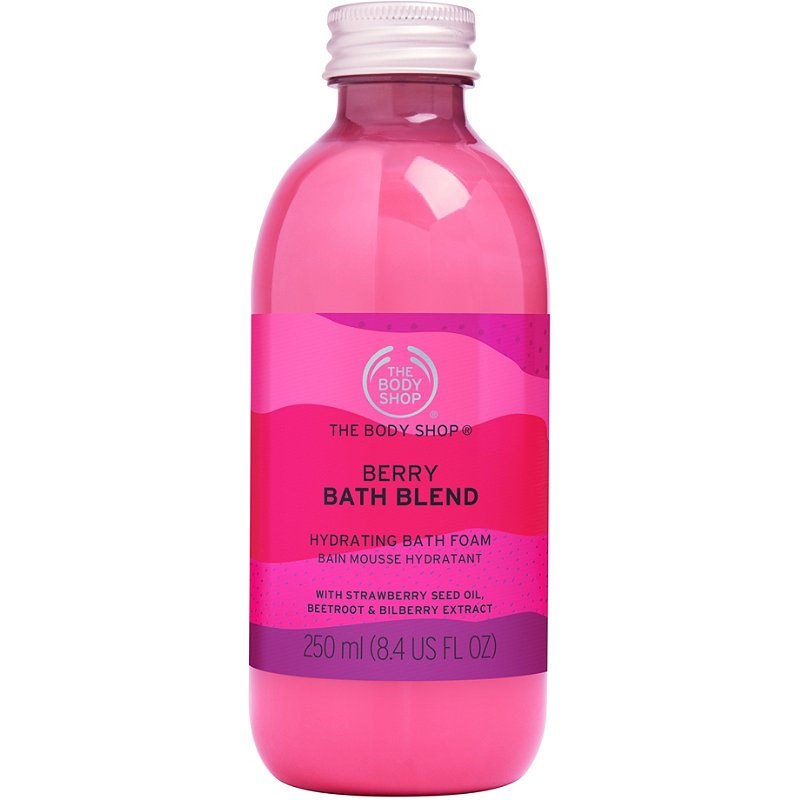 The Body Shop Berry Bath Blend Hydrating Bath Foam Ulta Beauty