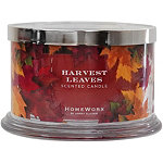HomeWorx Harvest Leaves 4 Wick Candle