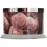 HomeWorx Sugared Beignets 4 Wick Candle