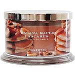 HomeWorx Banana Maple Pancakes 4 Wick Candle