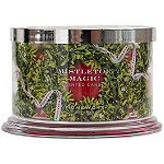 HomeWorx Mistletoe Magic 4 Wick Candle