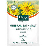 Kneipp Travel Size Joint & Muscle Arnica Mineral Bath Salt Soak
