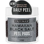 Feeling Beautiful Freeman Hawaiian Black Salt Peel Pads