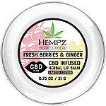 Hempz Limited Edition CBD 15mg Herbal Lip Balm