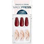 Dashing Diva Magic Press Vamp Vixen Press-On Gel Nails