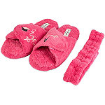 Jessica Simpson Wake Up & Make Up Spa Slipper Set