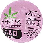 Hempz Rose Oil 25mg CBD Herbal Bath Fizzer