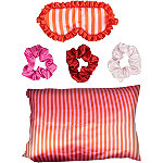 The Vintage Cosmetic Company Candy Stripe Sleeping Beauty Set