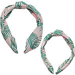 Riviera Mama & Mini Palm Print Headband