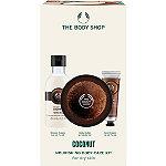 The Body Shop Coconut Nourishing Body Care Kit
