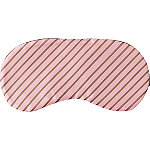 Sweet & Shimmer Pink & Gold Striped Sleep Mask