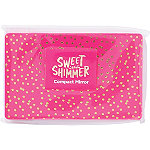 Sweet & Shimmer Pink & Gold Compact Mirror