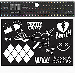 Wet n Wild Fantasy Makers Face and Body Stencil - Comic Misfit