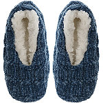 Capelli New York Chenille Cable Pull On Slipper