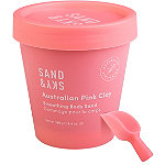 SAND & SKY Australian Pink Clay - Smoothing Body Sand