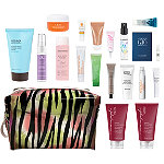 Variety Free Platinum & Diamond Exclusive 18 Piece Zebra Beauty Bag with $50 purchase