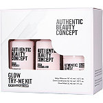 Authentic Beauty Concept Glow Try-Me Kit