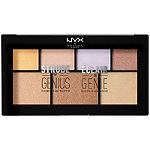 NYX Professional Makeup Free Strobe of Genius Palette with $25 brand purchase