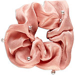 Scünci Rose and Pearl Scrunchie