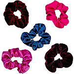Scünci Velvet and Satin Scrunchies