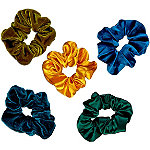 Scünci Velvet and Satin Holiday Scrunchies