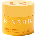 Kinship Insta Swipe Lemon Honey AHA Exfoliating Pads