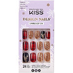 Kiss Christmas Miracle Design Holiday Nails