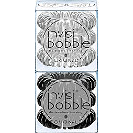 Invisibobble ORIGINAL Duo Pack True Black & Crystal Clear