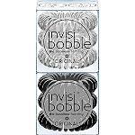 Invisibobble ORIGINAL Duo Pack True Black & Crystal Clear