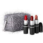 MAC Limited Edition Fireworked Like A Charm Mini Red Lipstick Kit