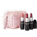 MAC Limited Edition Fireworked Like A Charm Mini Pink Lipstick Kit