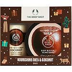 The Body Shop Nourishing Shea & Coconut Duo