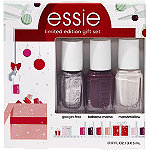 Essie Holiday Best Sellers 3 Piece Nail Color Mini Kit