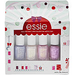 Essie Holiday Nail Color 4 Piece Mini Kit Winter Trend